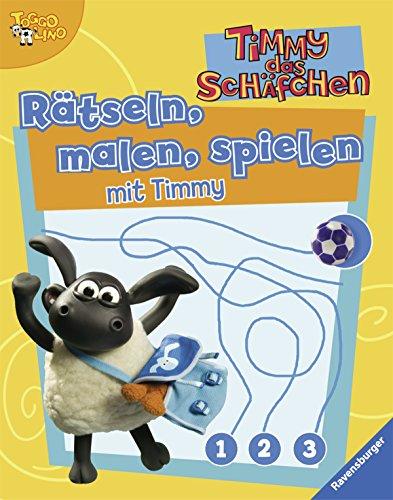 TB Taschenbuch: Rätseln, malen, spielen mit Timmy (Timmy das Schäfchen) - unbekannt