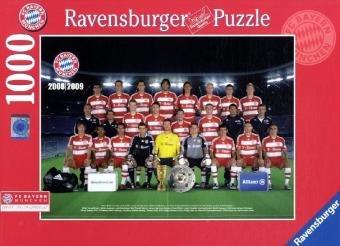 9783473677368: Ravensburger Puzzle FC Bayern München Saison 2008/2009. 1000 Teile