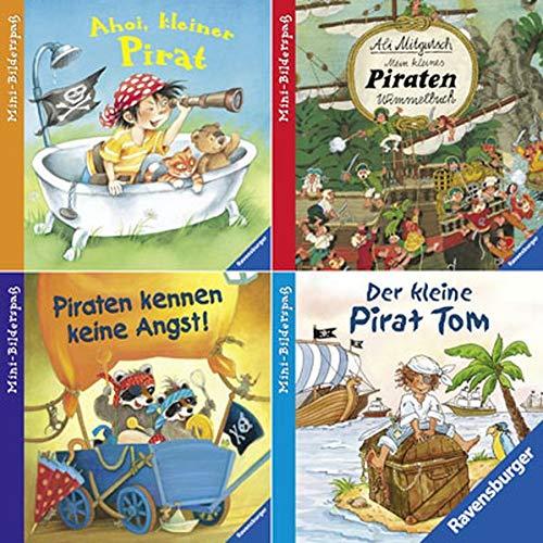 9783473692651: Ravensburger Mini-Bilderspaß 28 - Abenteuerliche Piratengeschichten (4er-Set)