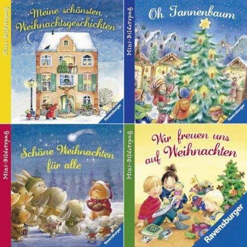 9783473693009: Ravensburger Mini-Bilderspaß 50 - Frohe Weihnachten (4er-Set)