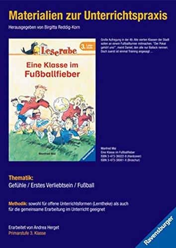 9783473980352: Materialien zur Unterrichtspraxis - Manfred Mai: Eine Klasse im Fußballfieber