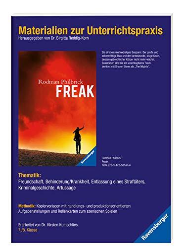 9783473981274: Rodman Philbrick: Freak. Materialien zur Unterrichtspraxis