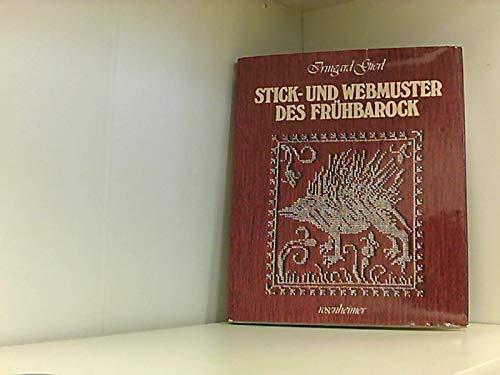9783475524042: Stick- und Webmuster des Frühbarock. Tiere, Pflanzen und Ornamente
