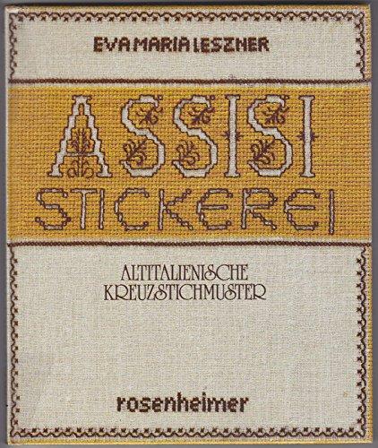 9783475524622: Assisi-Stickerei. Altitalienische Kreuzstichmuster