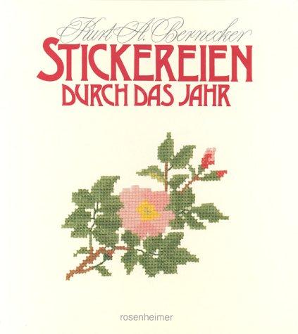 9783475527166: Stickereien durch das Jahr: 30 Kreuzstichmotive
