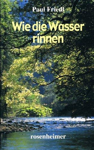 9783475534102: Wie die Wasser rinnen (Livre en allemand)