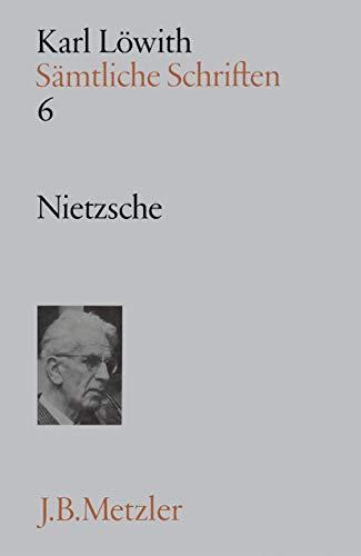 9783476005113: Nietzsche. ( = Sämtliche Schriften,6) .