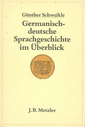 9783476005779: Germanisch-deutsche Sprachgeschichte im Überblick (German Edition)