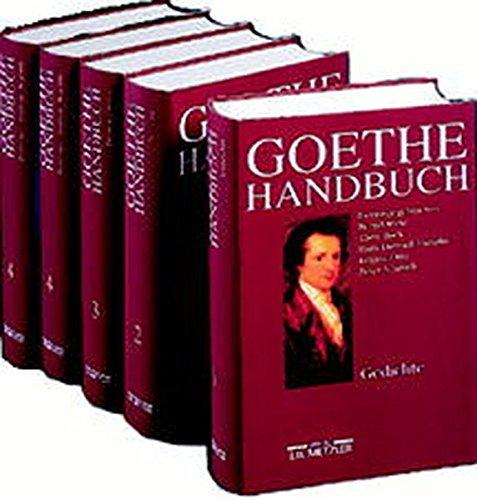 9783476009234: Goethe-Handbuch: In vier Banden (German Edition)
