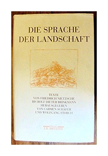 Die Sprache der Landschaft. Texte von Friedrich: Carmen Schäfer