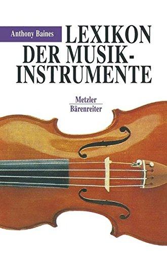 9783476009876: Lexikon der Musikinstrumente.