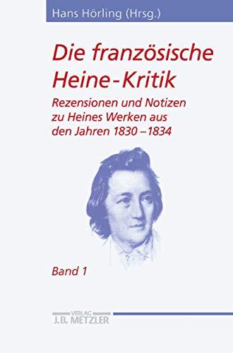 Die französische Heine-Kritik 1: Hans Hörling
