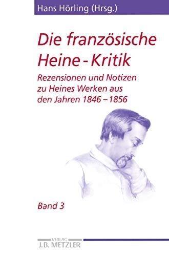 Die französische Heine-Kritik 3: Hans Hörling