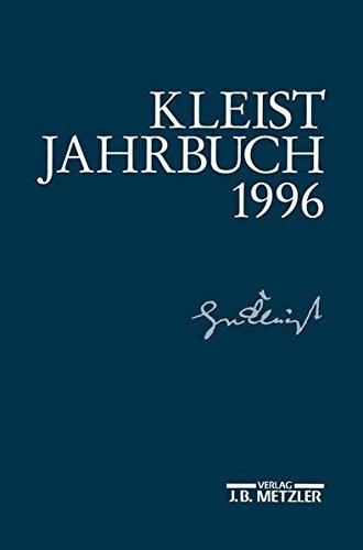 Kleist - Jahrbuch 1996