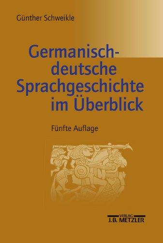 9783476019035: Germanisch-deutsche Sprachgeschichte im Überblick