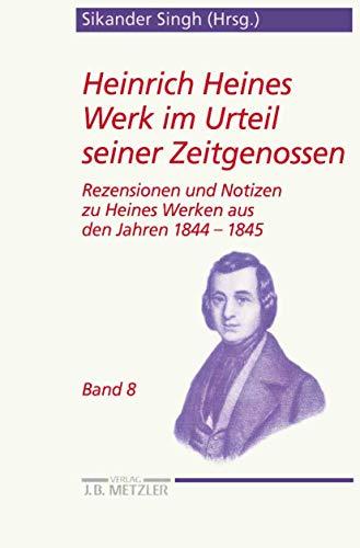 Heinrich Heines Werk im Urteil seiner Zeitgenossen 08: Sikander Singh