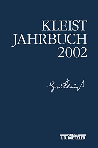 9783476019301: Kleist-Jahrbuch 2002