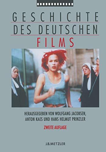 9783476019523: Geschichte des deutschen Films (German Edition)