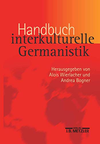 9783476019554: Handbuch interkulturelle Germanistik