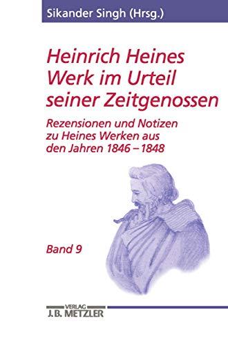 Heinrich Heines Werk im Urteil seiner Zeitgenossen 09: Sikander Singh