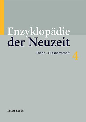 Enzyklopädie der Neuzeit: Friedrich Jaeger