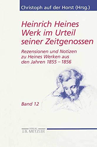 Heinrich Heines Werk im Urteil seiner Zeitgenossen: Christoph auf der Horst