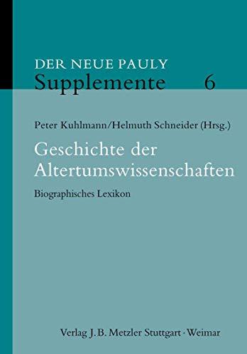 Der Neue Pauly. Supplemente 6: Beat Näf
