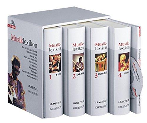 9783476020864: Metzler Musiklexikon