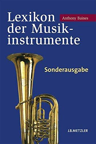 9783476021212: Lexikon der Musikinstrumente