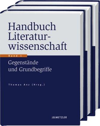 9783476021540: Handbuch Literaturwissenschaft