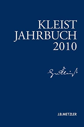9783476023612: Kleist-Jahrbuch 2010