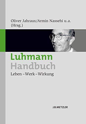 Luhmann-Handbuch: Oliver Jahraus