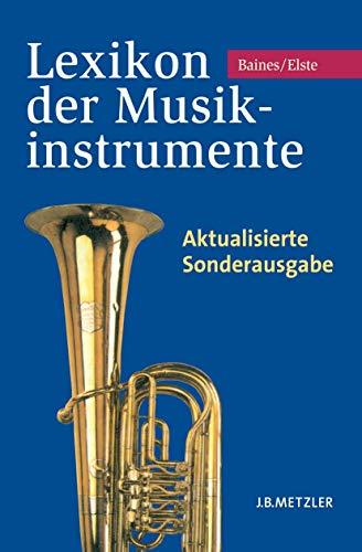 9783476023797: Lexikon der Musikinstrumente: Aktualisierte Sonderausgabe