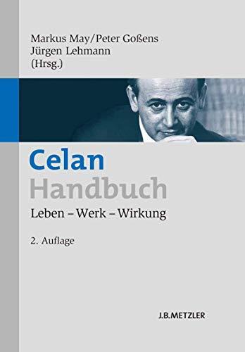 Celan-Handbuch: Markus May