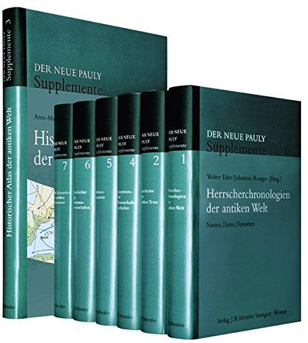 Der Neue Pauly - Supplemente. Bände 1 - 7. Sonderausgabe: Hubert Cancik