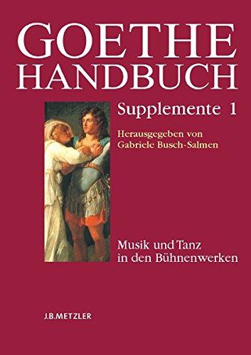 9783476026149: Paket: Goethe Supplemente Band 1-3 (German Edition)