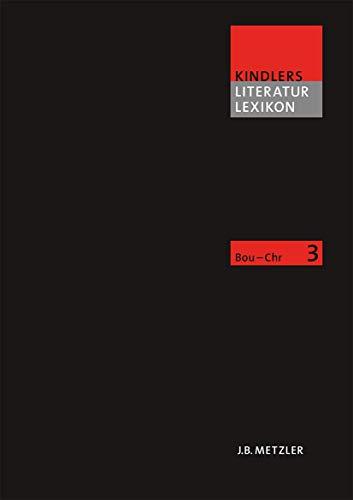 9783476040039: Kindlers Literatur Lexikon (KLL): Band 3 (German Edition)