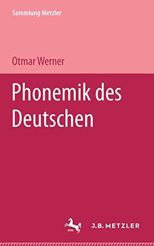 Phonemik des Deutschen.: Werner, Otmar