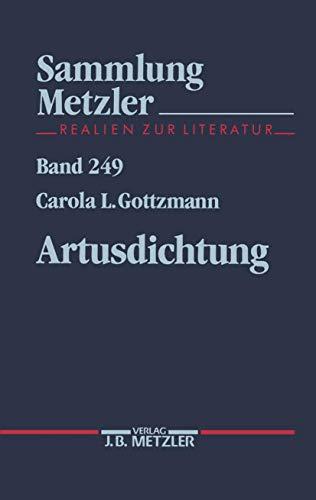 9783476102492: Artusdichtung (Sammlung Metzler)