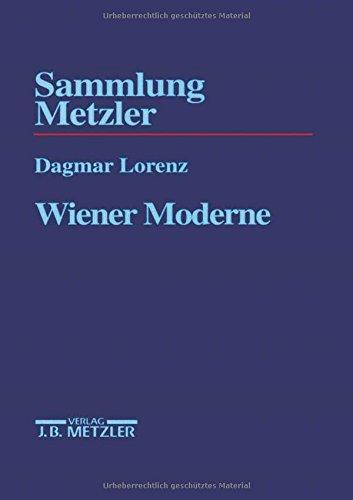 9783476102904: Wiener Moderne (Sammlung Metzler)