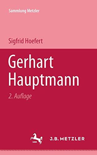 Gerhart Hauptmann (Abt. D, Literaturgeschichte) (German Edition): Hoefert, Sigfrid