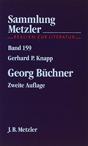 Georg Buchner (Abt. D, Literaturgeschichte) (German Edition): Knapp, Gerhard Peter
