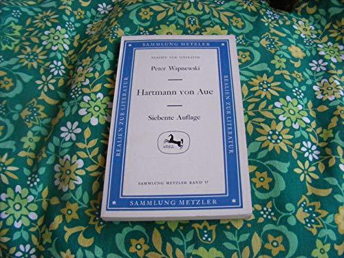 9783476170170: Hartmann von Aue (Sammlung Metzler ; M 17 : Abt. D, Literaturgeschichte) (German Edition)