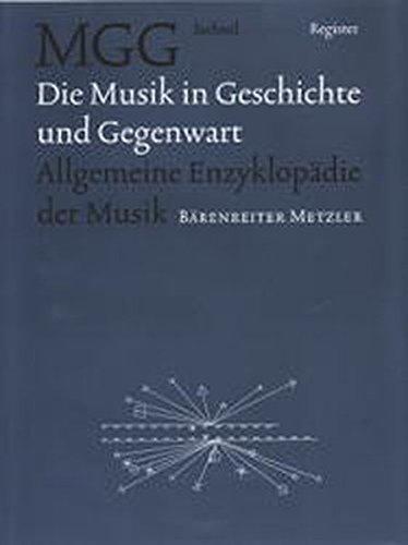 9783476410238: Musik Geschichte Und Gegenwart (German Edition)
