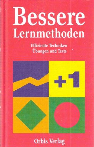 9783478037105: Bessere Lernmethoden. Effiziente Techniken für Erwachsene