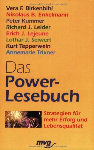 9783478086479: Das Power-Lesebuch: Strategien für mehr Erfolg und Lebensqualität