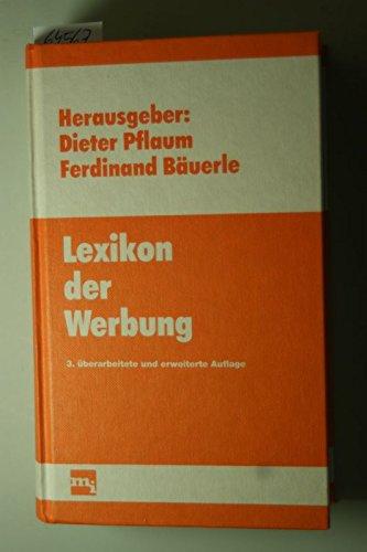 Lexikon der Werbung: Pflaum, Dieter &