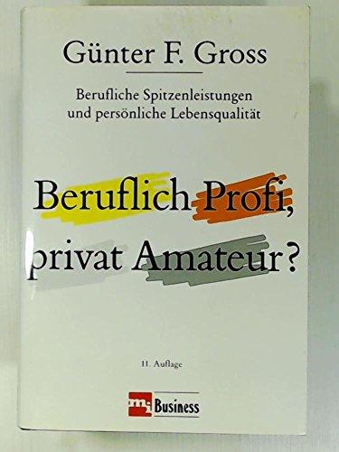 beruflich profi privat amateur
