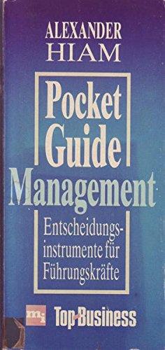 9783478319201: Pocket-Guide Management. Entscheidungsinstrumente für Führungskräfte