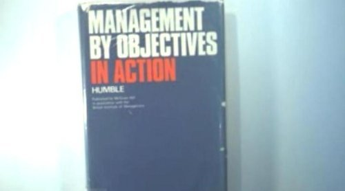 9783478319706: Management By Objective in Action